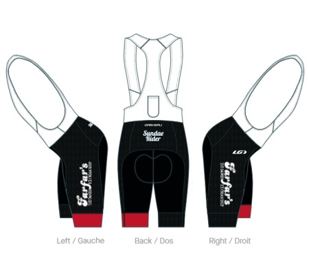 farfars cycling bibs