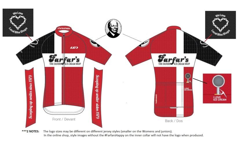 Farfar's bicycle Jersey